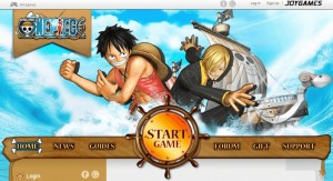 menu de one piece online